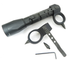 KZ FDR Flashlight Retention, Defense & Rescue Ring w/2 Impact Tips