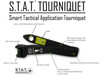 Smart Tactical Application Tourniquet w/Timestrip Timer
