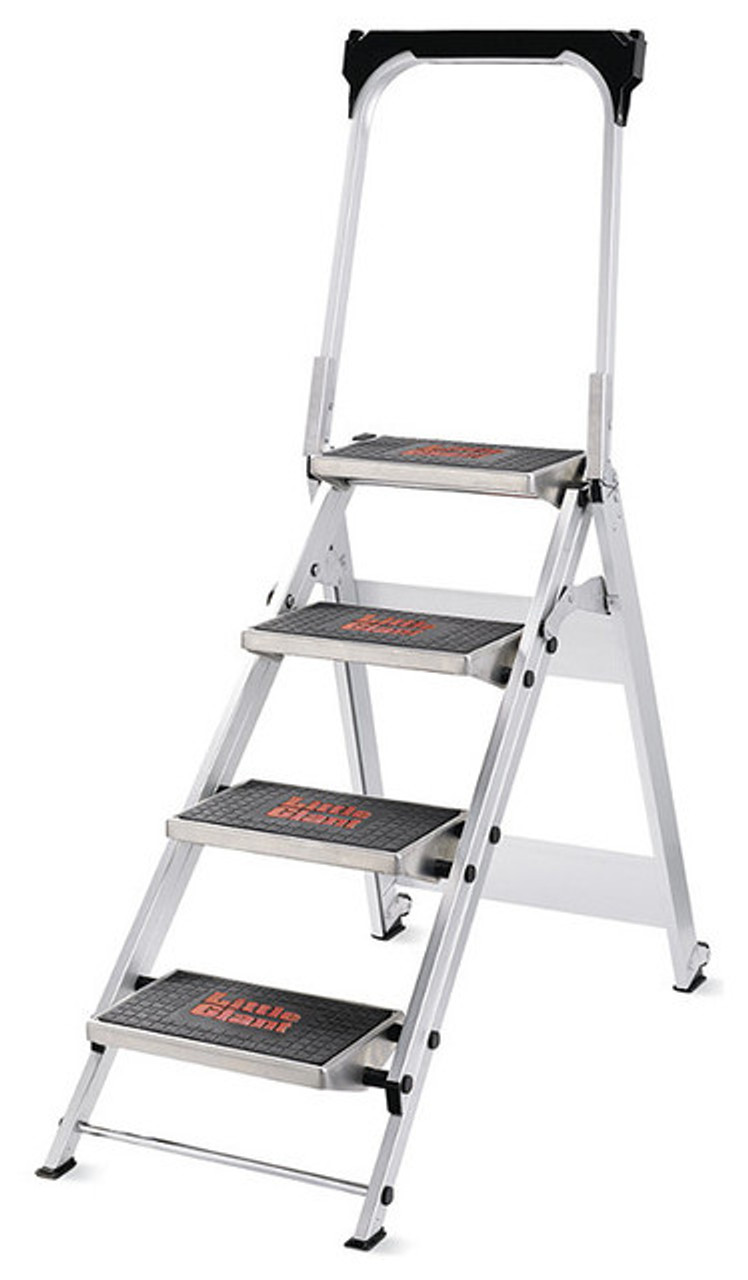 Amazing Little Giant Safety Step Stepladder 4 Step Pabps2019 Chair Design Images Pabps2019Com