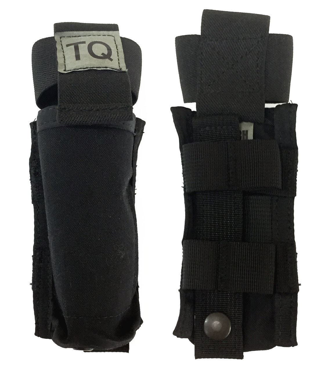 Tactical MOLLE Rigid Application Rescue Bandage Storage Pouch Open Top Carrier
