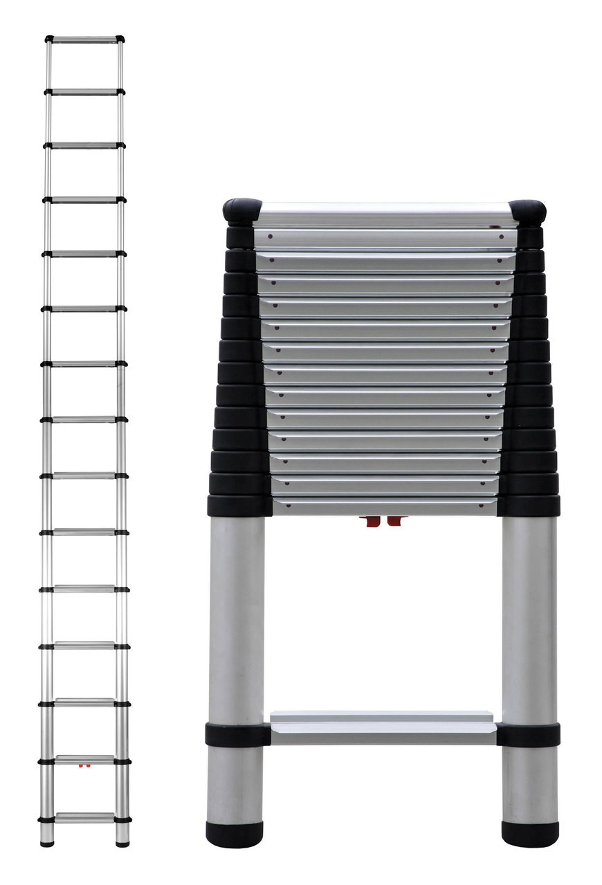 Incredible Telesteps 1800Ep Heavy Duty Professional Wide Step Telescoping Ladders Onthecornerstone Fun Painted Chair Ideas Images Onthecornerstoneorg