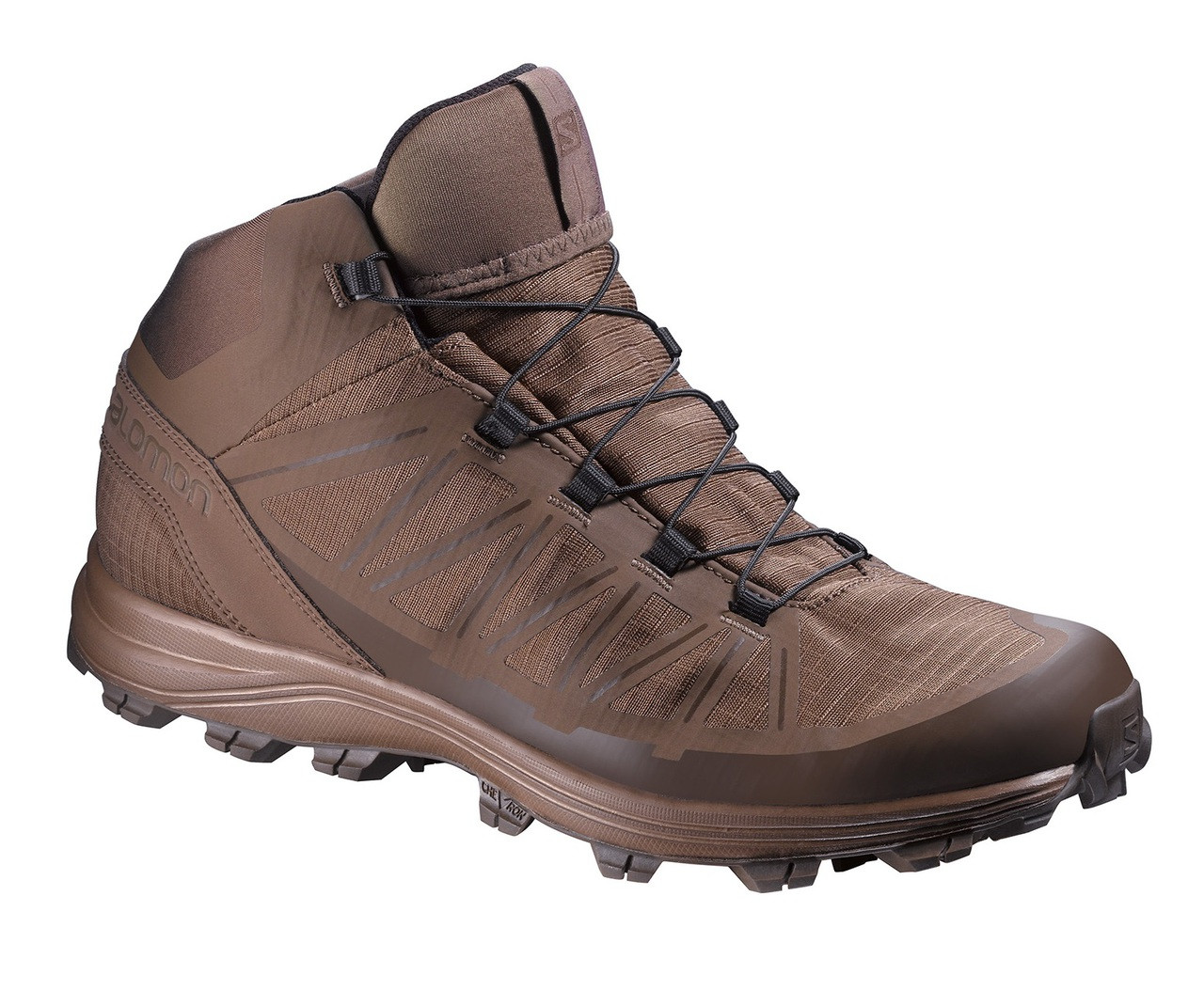 magasin en ligne a03e2 caad0 Salomon L37949900 Speed Assault Burro Boots W/ FREE 3 Pairs of Socks