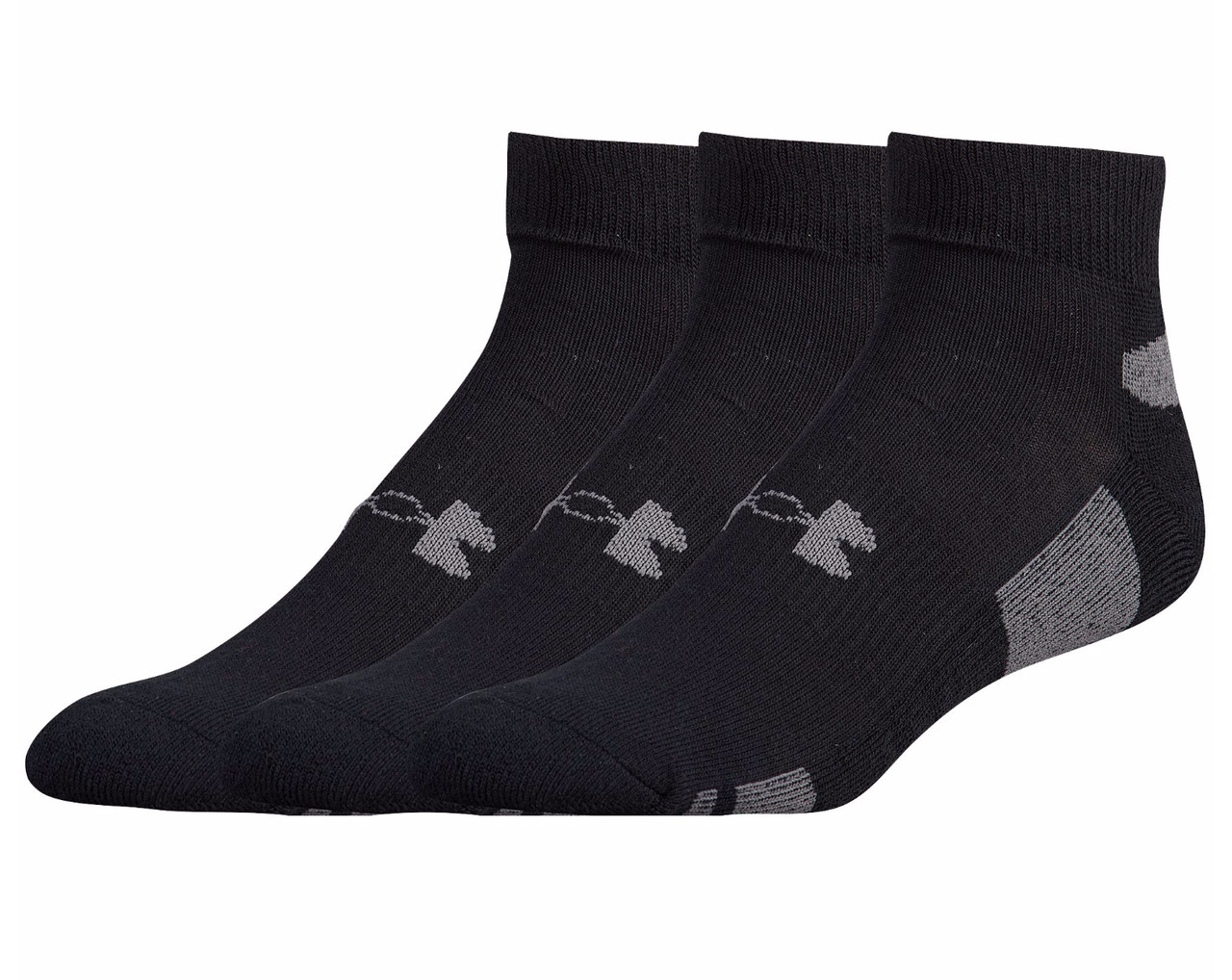 38cd5cbed Under Armour Men's HeatGear Low Cut 3-Pack Socks | Free Shipping on All  Orders