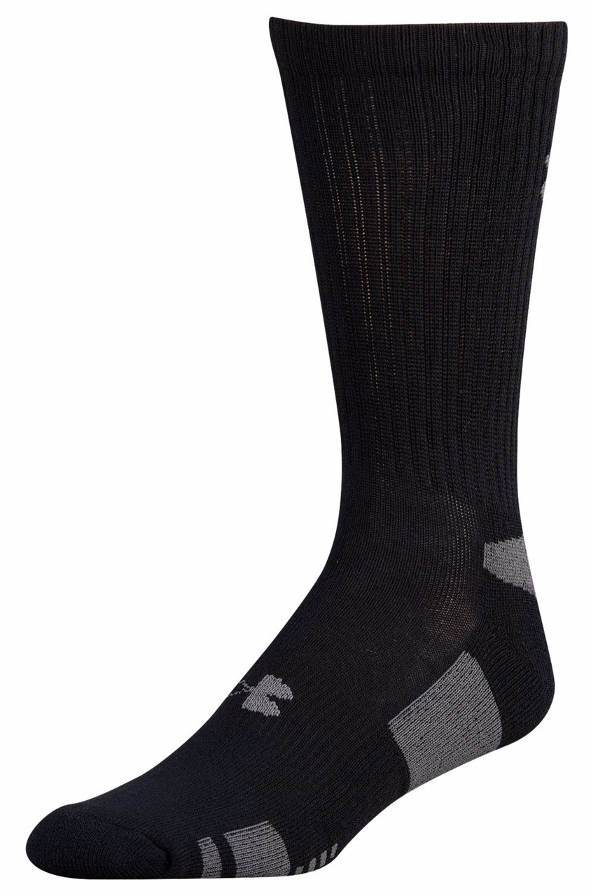 f1512981c Under Armour Men's HeatGear Crew 3-Pack Socks | Free Shipping on All Orders