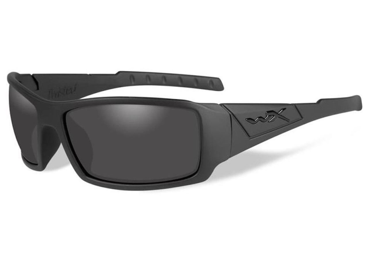 17c505a7d2 Wiley X SSTWI01 Smoke Grey Lens Matte Black Frame Ballistic Sunglasses