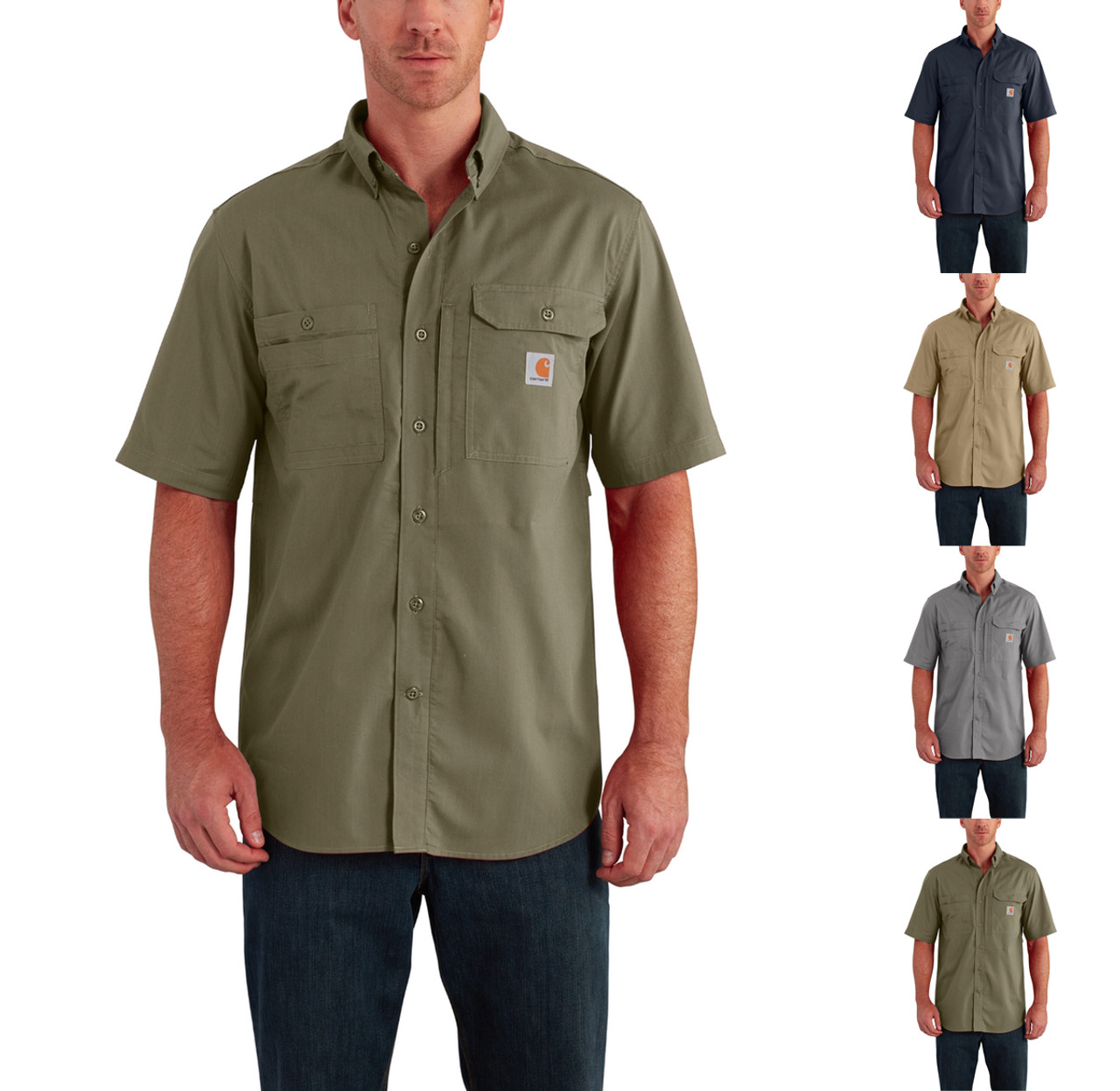 870d6aa9df Carhartt Force Ridgefield Solid Short Sleeve Shirt - Use Coupon Code   SAVE20 for Special Savings ...