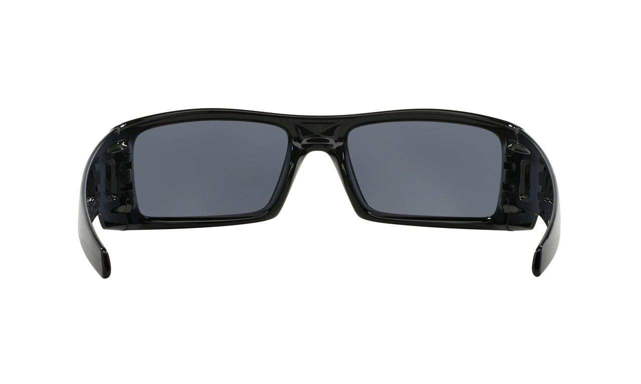 ce544d1693 ... Oakley Men s Gascan Polished Black Frame Grey Lenses
