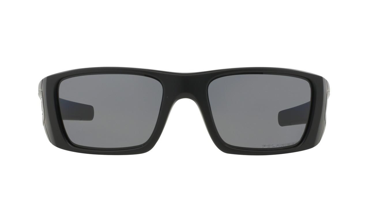 5604f40c39487 Oakley Men s Fuel Cell Matte Black Frame Grey Polarized Lenses ...