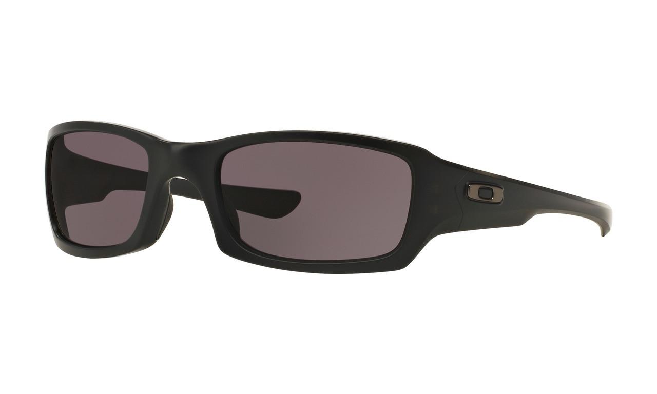 a69eea9b0c6 Oakley Men s SI Fives Squared Matte Black Frame Warm Grey Lenses ...