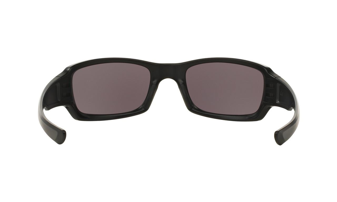 f36e40a17e6 ... Oakley Men s SI Fives Squared Matte Black Frame Warm Grey Lenses ...