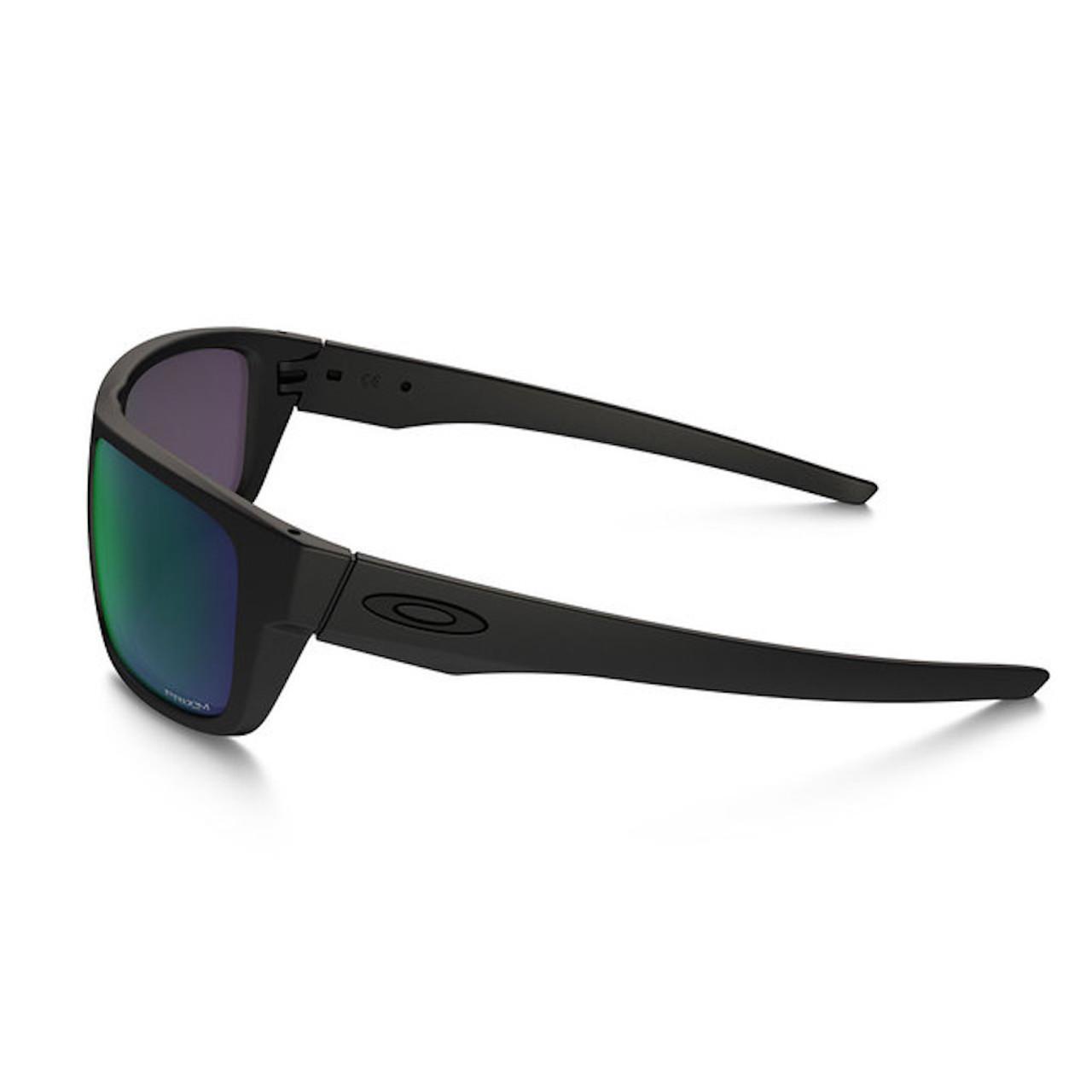 e4dc548c1f5 ... Oakley Men s SI Drop Point Matte Black Frame Prizm Maritime Polarized  Lenses