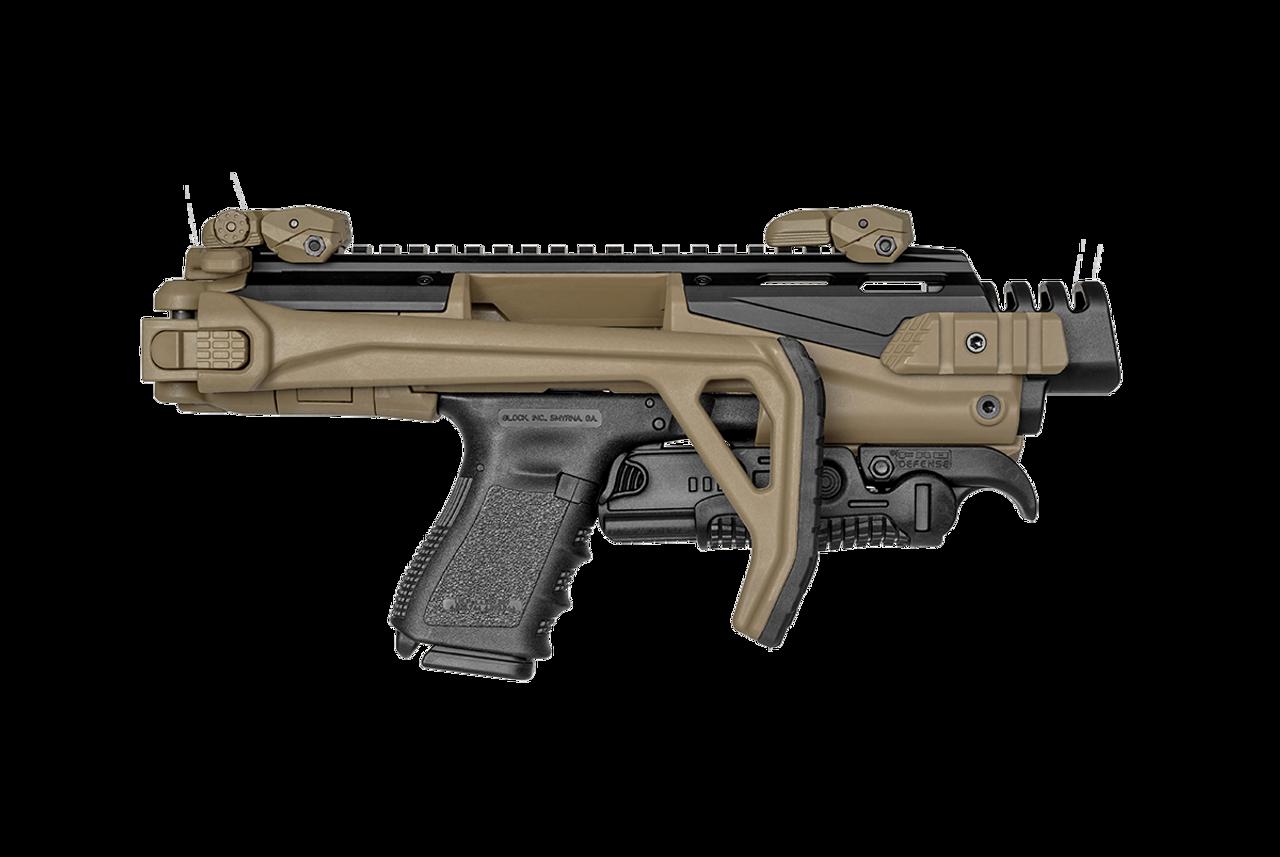 FAB KPOS Scout Glock Conversion Kit - FDE