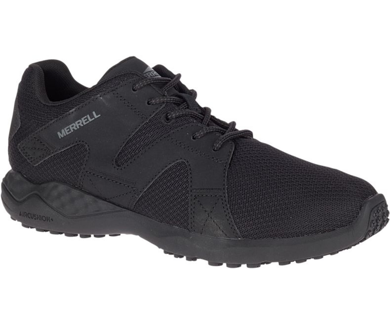 structural disablities clients first save off Merrell Men's 1SIX8 Mesh AC+ PRO Work Shoe, Black