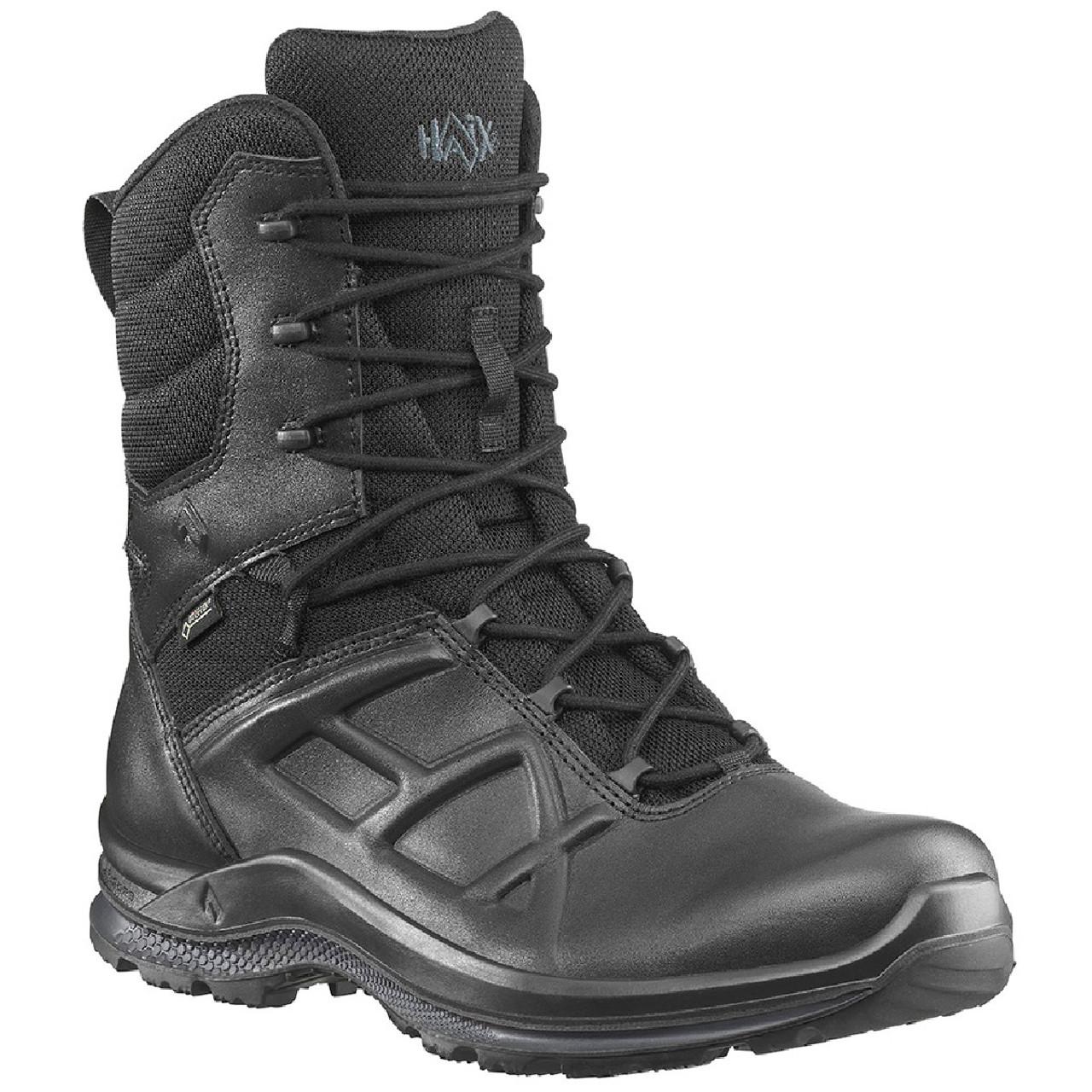 Haix Men's Black Eagle Tactical 2.0 GTX High Side Zip Waterproof 8