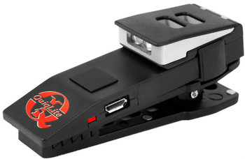 Quiqlite X Rechargeable Concealable Clip Flashlight w/Red & White LED's