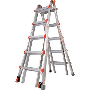 Little Giant M22 Aircraft Support Ladder - 22 Foot / 300lbs Capacity