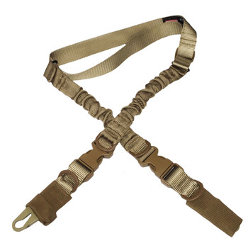 Sports & Entertainment 1000d Heavy Duty 1 Point Single Point Bungee Rifle Gun Sling With Side-release Buckle To Adopt Advanced Technology