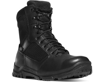 """Danner 23824 Lookout Size-Zip 8"""" Black Boots"""