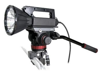 Maxa Beam Heavy-Duty Uni-Clamp Fluid Pan/Tilt Head