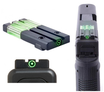 Meprolight FT Bullseye Fiber Optic / Tritium Reflex Pistol Sight
