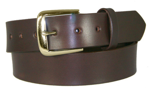 Boston Leather Gun Belts w/Brass Buckle