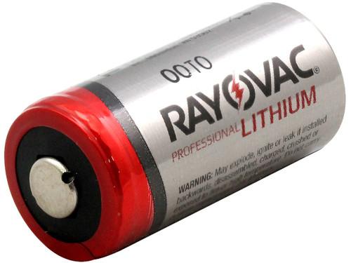 Rayovac RL123 3-Volt Lithium Batteries 100/Pack
