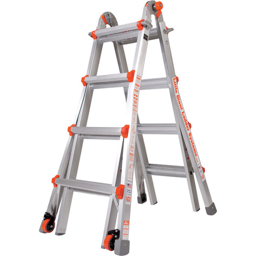 Little Giant M17 Aircraft Support Ladder - 17 Foot / 300lbs Capacity