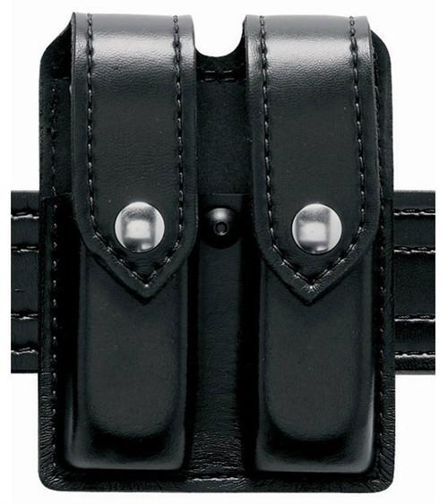 Safariland Double Pistol Magazine Pouch w/Flap for Glock 17 - STX
