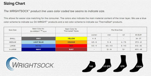Wrightsock 155 Single Layer SLX Quarter Socks