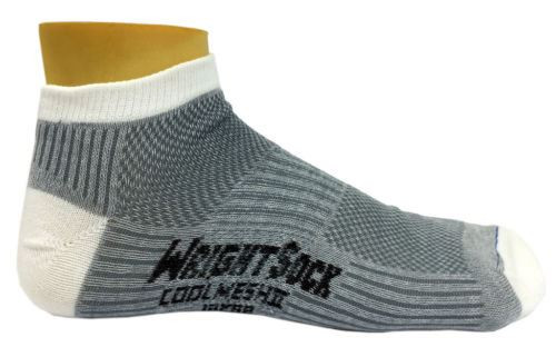 Large - White/Light Grey 104 Double Layer Coolmesh II Low QTR