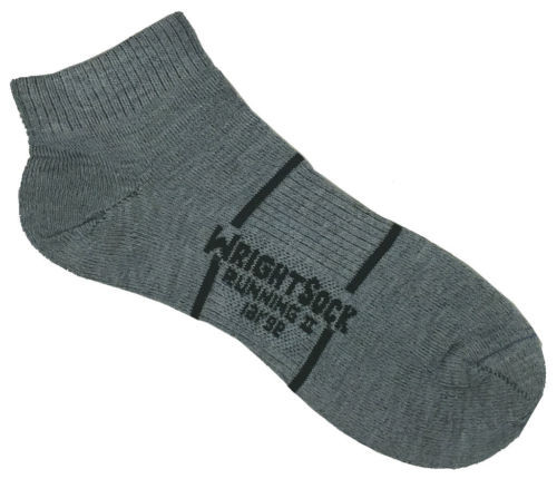 Large - Grey 864 Double Layer Running II Low QTR
