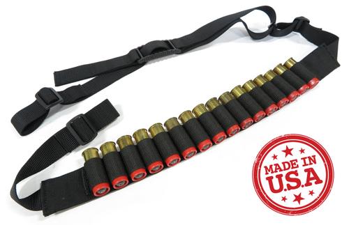 KZ Quick Adjust Slings Shotgun Model Wide Shoulder Strap & Pull Tab
