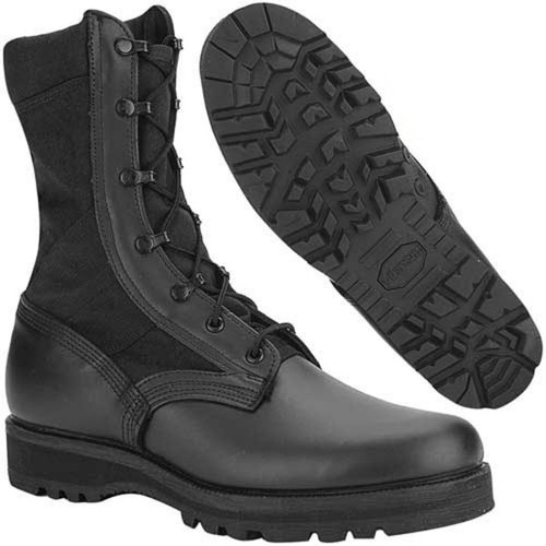 "Altama 4168 Men's Mil Spec 3LC 8"" Boots, Black"