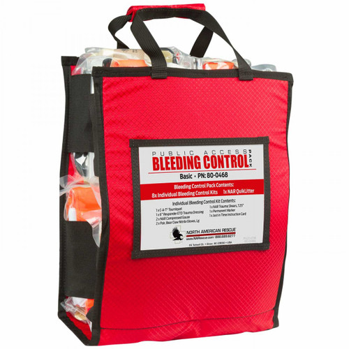 North American Rescue 80-0471 Basic Public Access Bleeding Control Station