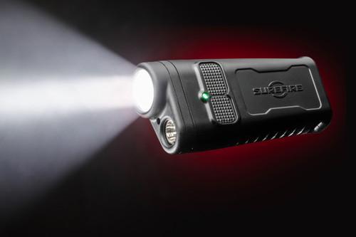 Surefire DBR GUARDIAN Dual-Beam Rechargeable Ultra-High LED Flashlight