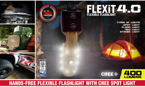 Striker FlexIt 4.0 Flexible Flashlight