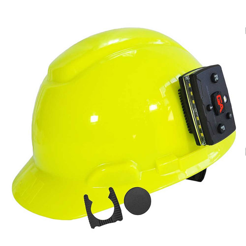 Magnetically attach an Elite Series Guardian Angel device to anywhere on nearly any hard hat. Comes with magnet and rubber grip mount for extra traction.