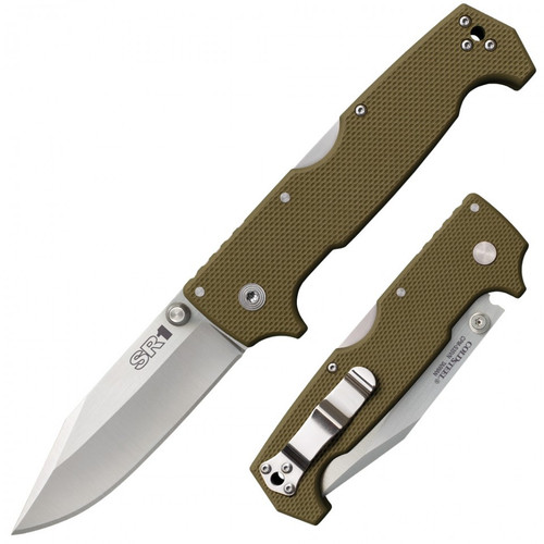 Cold Steel SR1 Survival Rescue Series Heavy Duty Folding Knives Clip Point Blade