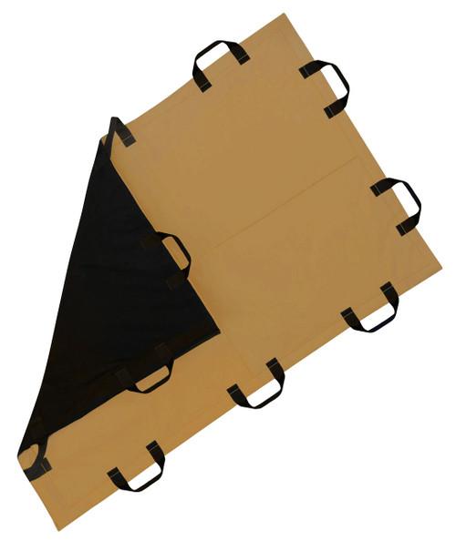 Battle Steel Level IIIA 4'x6' Ballistic Blanket Black/Coyote