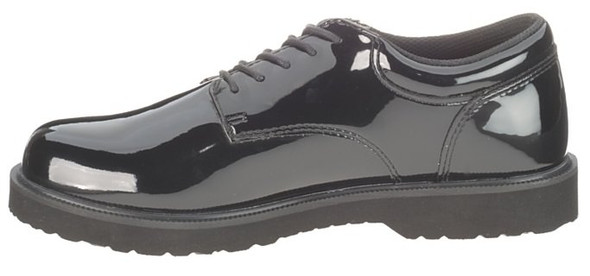 Bates E22741 Black High Gloss Duty Oxford Women's Shoes