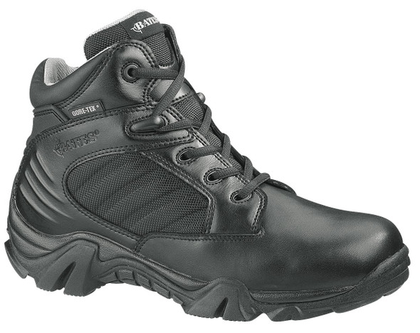 "Bates E02266 Black 4"" Leather Waterproof Boots"