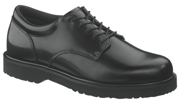 Bates E22233 Black Leather High Shine Duty Oxford Shoes