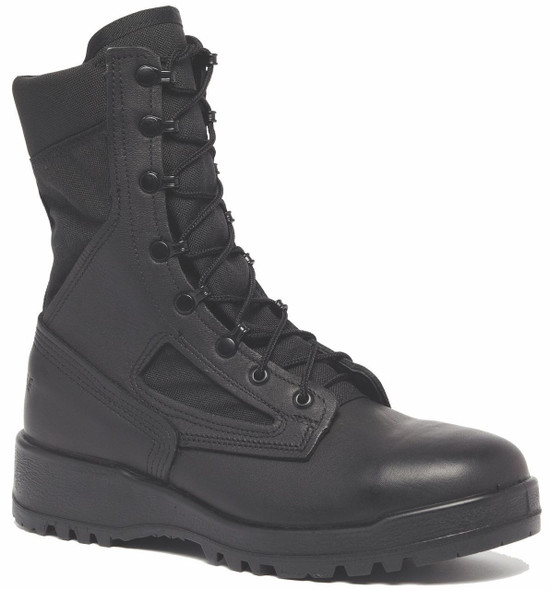 Belleville 300 TROP ST Hot Weather Steel Toe Boots, Black