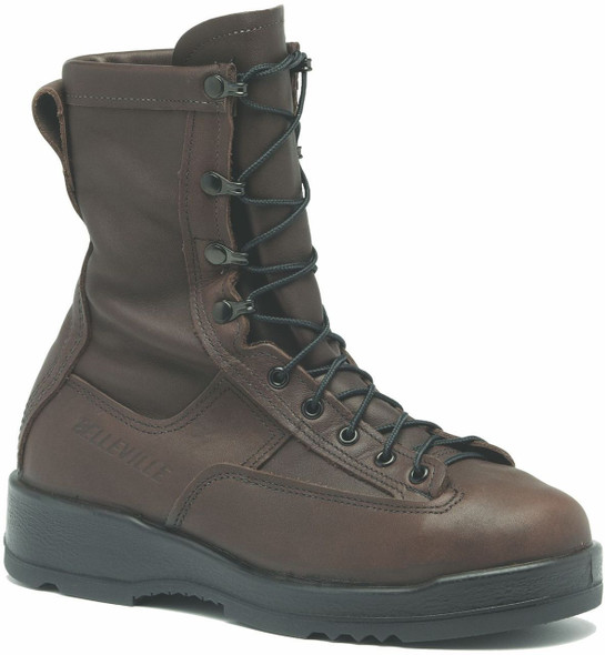 Belleville 330 ST Wet Weather Steel Toe Flight Boots, Brown