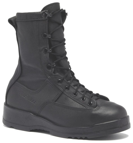 Belleville 800 ST Waterproof Steel Toe Flight and Flight Deck Boots, Black