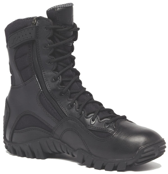 Belleville TR960Z WP KHYBER Lightweight Waterproof Side-Zip Tactical Boots, Black