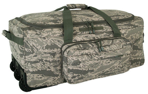 Code Alpha Air Force Digital Camo Deployment/Container Bag w/ Tri-Wheel