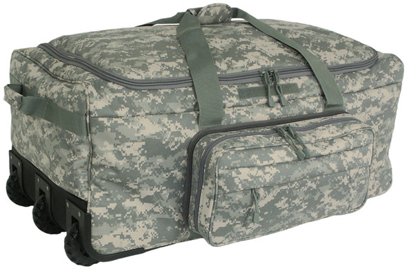Code Alpha Army Digital Camo Deployment/Container Bag w/ Tri-Wheel
