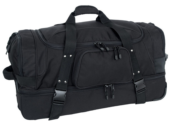 Code Alpha Wheeled Duffel w/ Drop Bottom