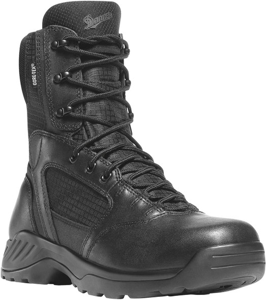 "Danner 28012 Kinetic Side-Zip 8"" Black GTX Boots"